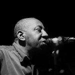Richard Arame plays live at cafe Garcon, April 2015