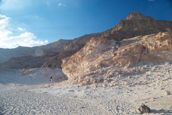 Wolfgang in the Negev Desert