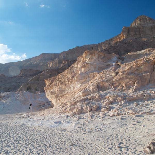 Wolfgang in the Negev Desert, Israel